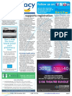Pharmacy Daily for Fri 13 Dec 2013 - CHC supports registration, PBS costs \'not the villain\', Guild at the grass roots, Events Calendar and much more