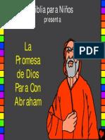 Estudios biblicos para niños. La promesa de Dios para con Abraham, historia 4