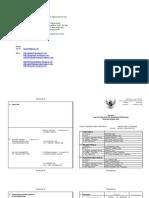 Contoh Format DP3 PNS