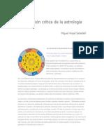 Sabadell Miguel Angel - Una Revision Critica de La Astrologia