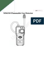 MS6310 Manual