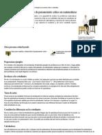 7 pasos para unas estrategias de pensamiento crítico en matemáticas _ eHow en Español
