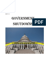 government shutdown handout