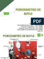Porosimetro de Boyle
