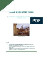 Breve Diccionario Vasco
