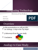 case study 10 integrating technology