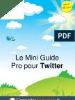 Mini Guide Twitter Pro par ConseilsMarketing