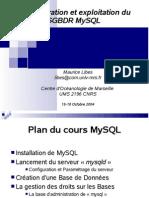 Cours Mysql