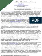 Richard Carlile and His Manual of Freemasonry