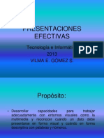 Presentaciones Efectivas en Power Point