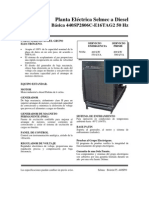 Selmec 440SP2806C-E16TAG2 SEL-E-804 Capacidad 440 KW