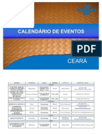 Calendario Estadual de Eventos - 2013
