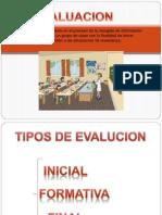 Presentación de evaluacion