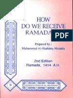 En How Do We Receive Ramadan