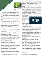 Risalah Dakwah 039 Najis Yang Di Maafkan Menurut Syara' ( Mazhab as-Syafiee )