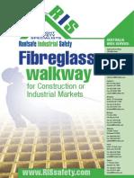 RIS Fibreglass Walkway