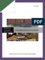 Gestion Ambiental Terminado (Contaminacion de Suelos Agricolas).