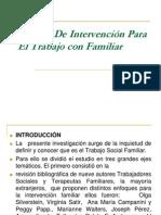 Modelo De Intervención Para El Trabajo con Familiar
