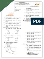 Prueba Semestral de Trigonometria