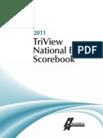 2011 TriView Scorebook