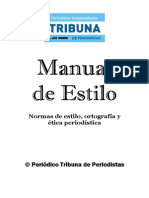 Manual de Estilo La Tribuna