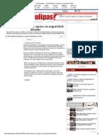 11-12-2013 'Cuenta Reynosa Con Apoyo en Seguridad_ Alcalde'