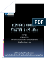 Chapter I - 1 - Behaviour of Concrete and Steel Reinforcement Material.pdf