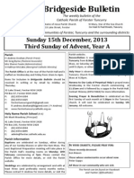 2013-12-15 - 3rd Advent A