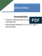 Statistics Method