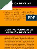 PRESENTACION MEDICIÓN DE CLIMA