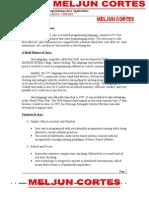 MELJUN CORTES MANUAL JAVA Programming CSCI03
