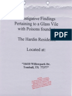 ICC - Hardin DOJ Complaint - Poison and Banking Fraud - Tomball