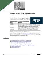 IEEE 802.1Q-In-Q VLAN Tag Termination