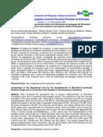 Custo Operacional Efetivo da Implantação de Pastagem de com Soja em Savana de Roraima