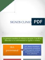 Signos Clinicos y Diagnostico Diferencial Ira