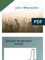 população e migrações [Modo de Compatibilidade]
