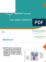 ENTRE- INFUSIÓN DE MABTHERA 2012 (1)