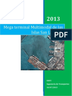 Megaterminal Multimodal Islas San Lorenzo
