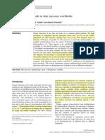 Tendencia Epidemiologicas Mundiales en Micosis Cutaneas