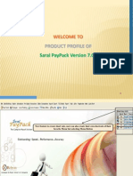 Saral Pay Pack