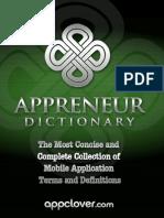 AppClover Appreneur Dictionary