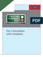 Canada Post Consultaion