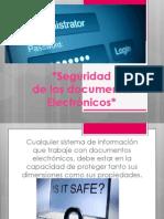 seguridad de doc electronicos