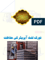 Safety Forklifter Driving