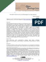 The Earth Community and Ecological Jurisprudence by Peter D. Burdon El discurso filosófico jurídico tiende a ser animado por una concepción de sí mismo y de los parámetros de la comunidad. Como reflejo de una vasta herencia de la filosofía humanista y la teología, conceptos jurídicos occidentales reflejan valores antropocéntricos.