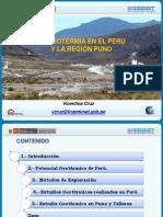 03. Geotermia en el Perú y la Región Puno