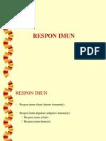 Self Tolerance Respon Immune Seluler Humoral Sitokin