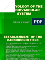 Embryology of the Cardiovascular System