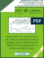 Reglamento CIRSOC 101