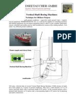 Vertical Shaft Boring Machines